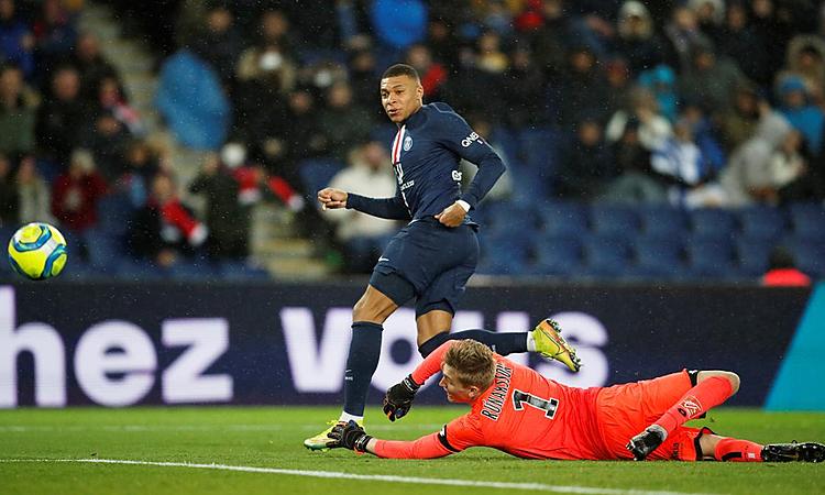 Mbappe bị cấm dự Olympic 2020. Ảnh: Reuters.