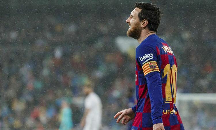 Messi không còn đồng đội đủ đẳng cấp hỗ trợ trong những trận đấu lớn. Ảnh: Marca.