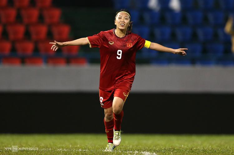 Huỳnh Như là nữ cầu thủ Việt Nam đầu tiên ghi được bàn thắng vào lưới Australia trong một trận đấu chính thức.