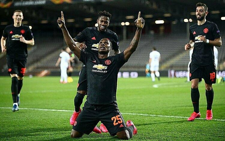 Ighalo đều ghi bàn trong ba trận đá chính cho Man Utd. Ảnh: Reuters.