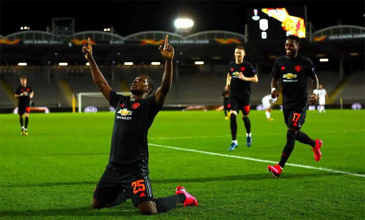 Ighalo đang để lại dấu ấn tại Man Utd. Ảnh: PA.