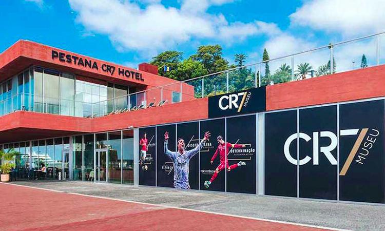 Khách sạn của Ronaldo tại Bồ Đào Nha.