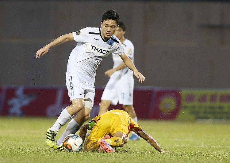 Sau giải U23 châu Á 2018, Xuân Trường sa sút phong độ vì chấn thương. Ảnh: Lâm Thoả