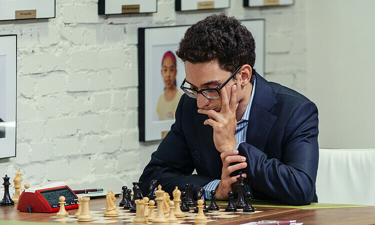 Caruana được coi là ứng viên sáng giá cho chức vô địch Candidates. Ảnh: GCT.