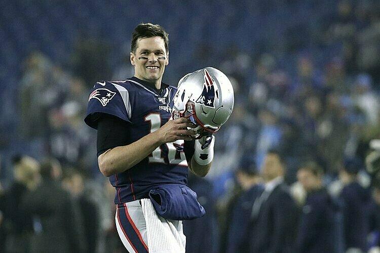 Tom Brady 14 lần góp mặt tại các trận All-Star của NFL. Ảnh: AP.