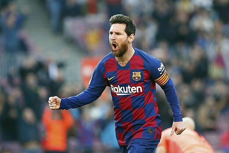 Gundogan đánh giá Messi (ảnh) là cầu thủ hay nhất. Ảnh: AP.