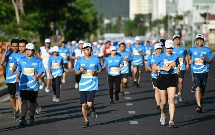 Các giải chạy do báo VnExpress thu hút nhiều runner tham gia.