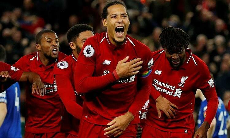 Đội hình Liverpool được định giá cao nhất châu Âu. Ảnh: Reuters.