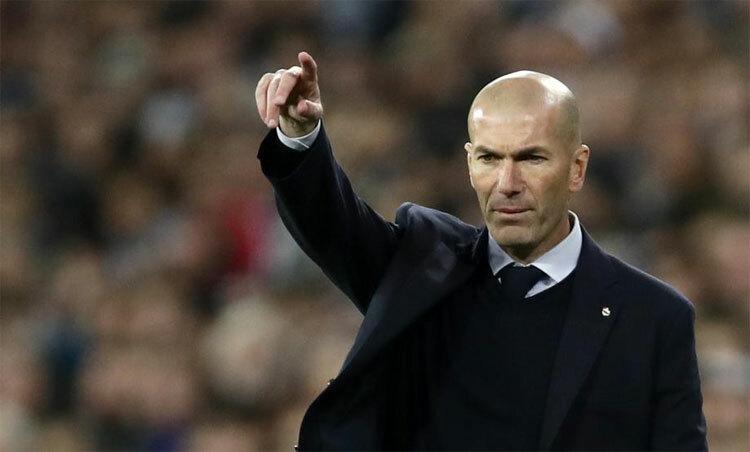 Zidane là HLV tồn tại lâu thứ ba ở Real. Ảnh: AP.
