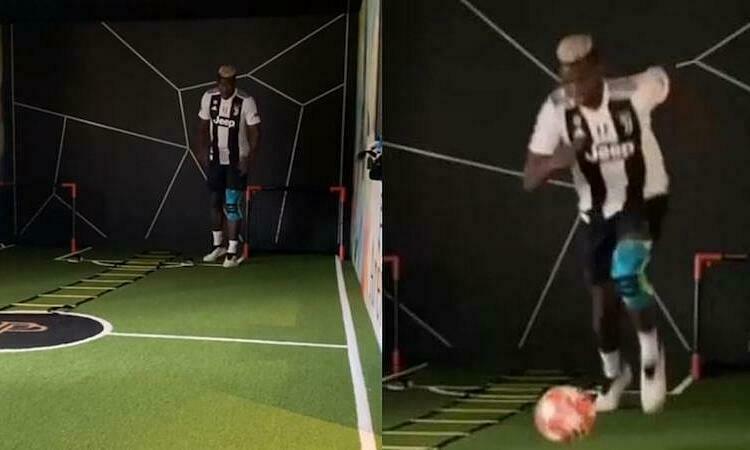 Pogba đã có thể trở lại tập luyện sau chấn thương.