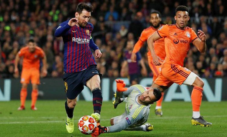 Messi bị đánh giá thấp vì chuẩn bị sang tuổi 33 và không còn phong độ đỉnh cao. Ảnh: Reuters.