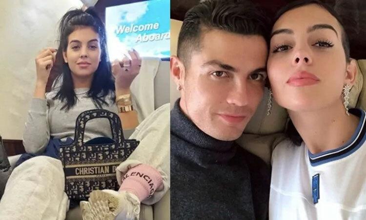 Ronaldo và bạn gái đang cách ly tại quê hương Funchal, Madeira. Ảnh: Instagram.