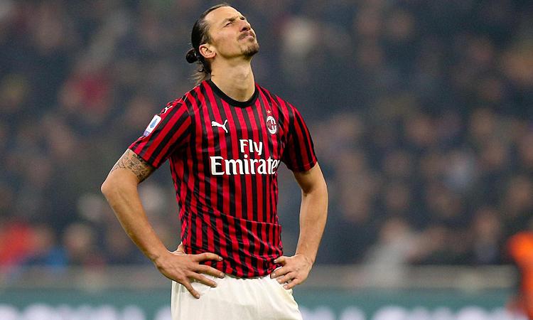 Ibrahimovic được cho là muốn rời Milan chỉ sau thời gian ngắn trở lại. Ảnh: EPA.
