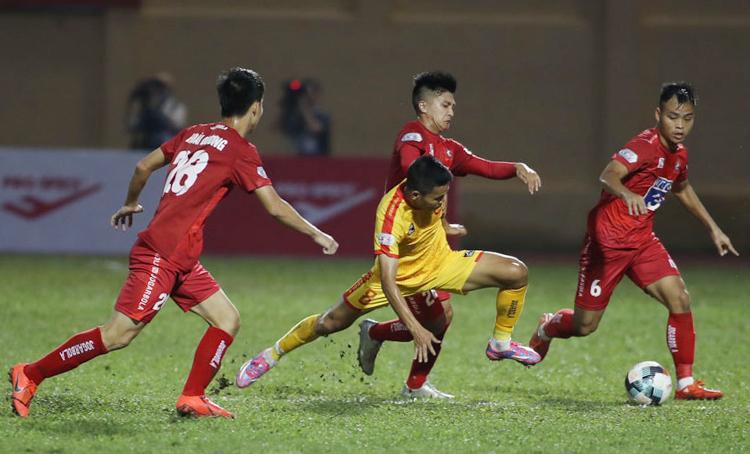 Thanh Hoá thất thủ 0-1 trước Hải Phòng ở vòng một V-League 2020.