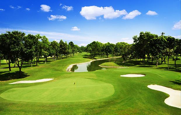 Một góc sân golf VGCC.