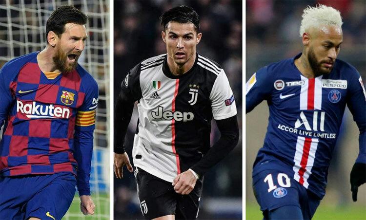 Messi kiếm tiền nhiều nhất - ảnh 1