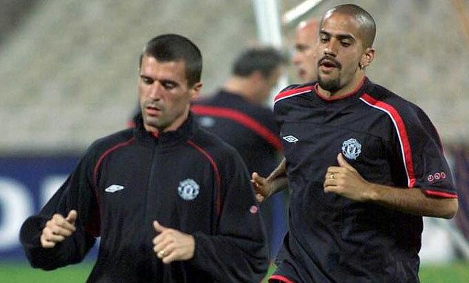 Cựu HLV Alex Ferguson thất bại khi muốn gắn kết Roy Keane với Veron. Ảnh: AP.