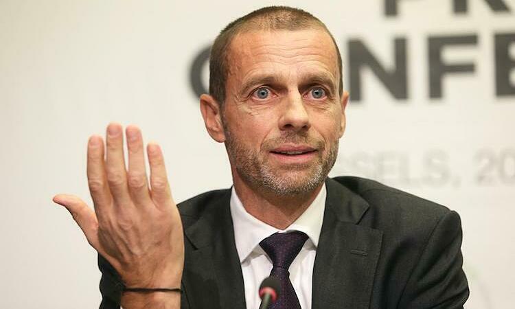 Ceferin thừa nhận UEFA gặp thách thức lớn trong việc tìm phương án kết thúc cho các giải vô địch quốc gia. Ảnh: Reuters.