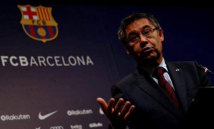 Bartomeu: Barca không kiếm được tiền từ 14/3 - ảnh 1