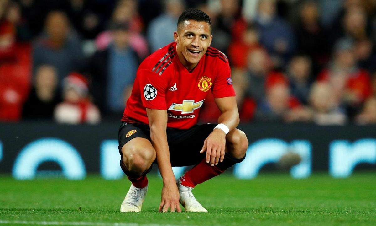 Sanchez cống hiến rất ít cho Man Utd kể từ khi đầu quân hồi tháng 1/2018. Ảnh: Reuters.