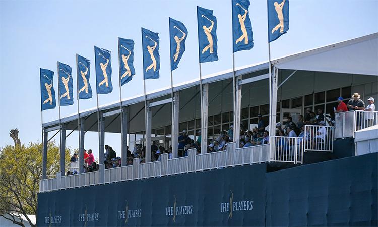 The Players Championship là một trong hàng loạt sự kiện golf đỉnh cao bị hoãn hoặc huỷ vì đại dịch. Ảnh: USA Today.