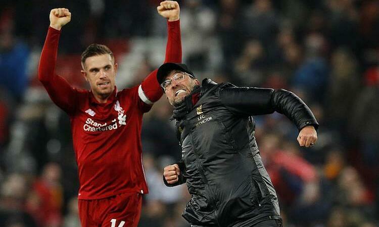 Henderson thấm nhuần sự chỉ dạy của Klopp về tinh thần thi đấu. Ảnh: Reuters.