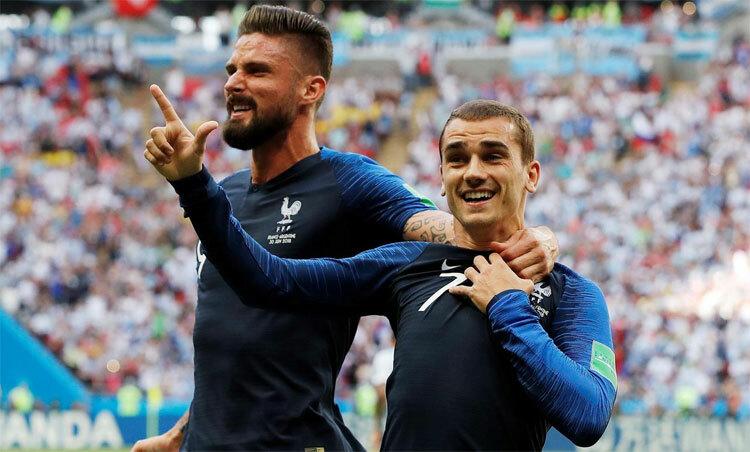 Giroud thi đấu cả bảy trận tại World Cup 2018. Ảnh: Reuters.