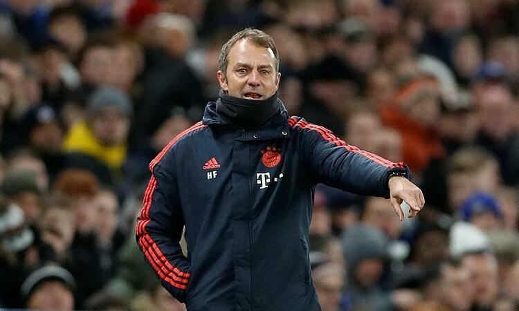 Flick ngày càng chiếm được lòng tin của các lãnh đạo Bayern. Ảnh: Reuters.