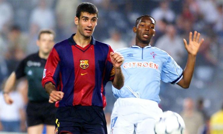 Barca của Guardiola và Rivaldo trong mùa 2000-2001 bết bát tới mức bị những đội nhỏ như Celta Vigo bắt nạt.