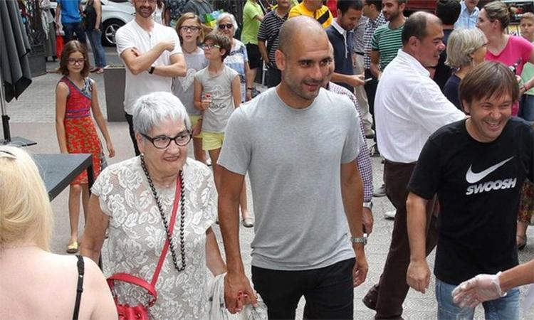 Mẹ của Guardiola qua đời - ảnh 1