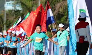 Những khoảnh khắc runner nhí chinh phục đường chạy Quy Nhơn