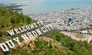 Cảnh sắc phố biển trong trailer VnExpress Marathon Quy Nhon 2020
