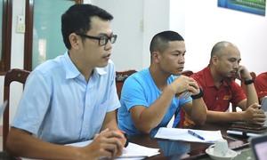 Lực lượng y tế hùng hậu tại giải chạy VM Quy Nhơn