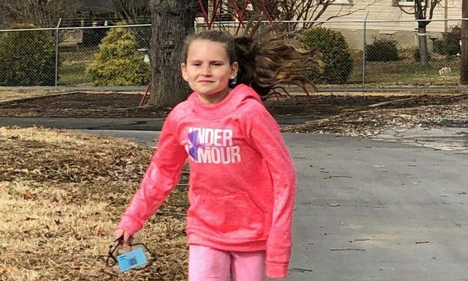 Cô bé lớp 5 lập kỷ lục Marathon Kids