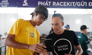Runner nước ngoài hào hứng với VnExpress Marathon