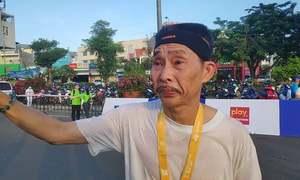 Runner nén nỗi đau mất mẹ để về đích tại VnExpress Marathon