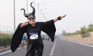 Runner 'Maleficent' muốn bỏ cuộc sau vài kilomet