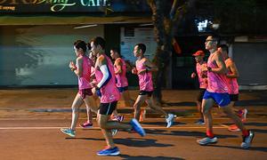 An toàn được đặt lên hàng đầu tại giải chạy đêm Hà Nội