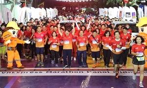 Giải marathon VM Amazing Hạ Long thu hút các nhóm chạy