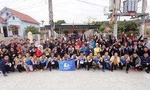 Nhóm chạy lớn nhất Quảng Ninh chờ đón VM Amazing Halong