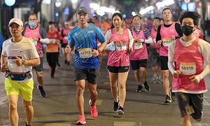 Giải chạy đêm Hà Nội kéo dài bán vé 'siêu sớm' đến hết tháng 3