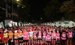 5.000 người mua vé siêu sớm giải chạy đêm Hà Nội